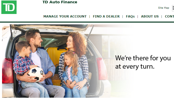 How to Register At TD Auto Finance Online Account