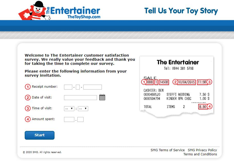 The Entertainer Customer Satisfaction Survey
