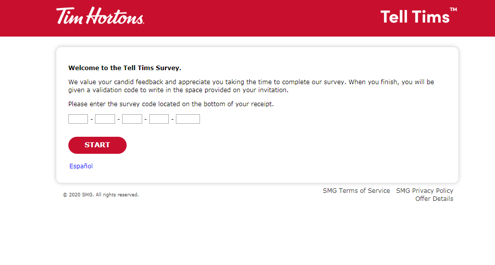 How to Take TellTims customer Survey