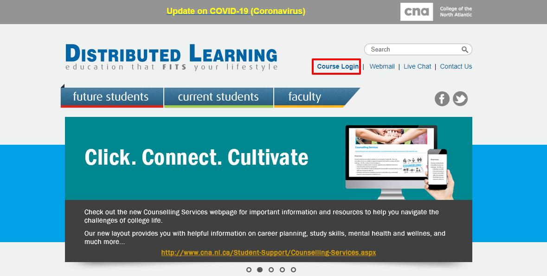 Login at CNA DL Online Portal