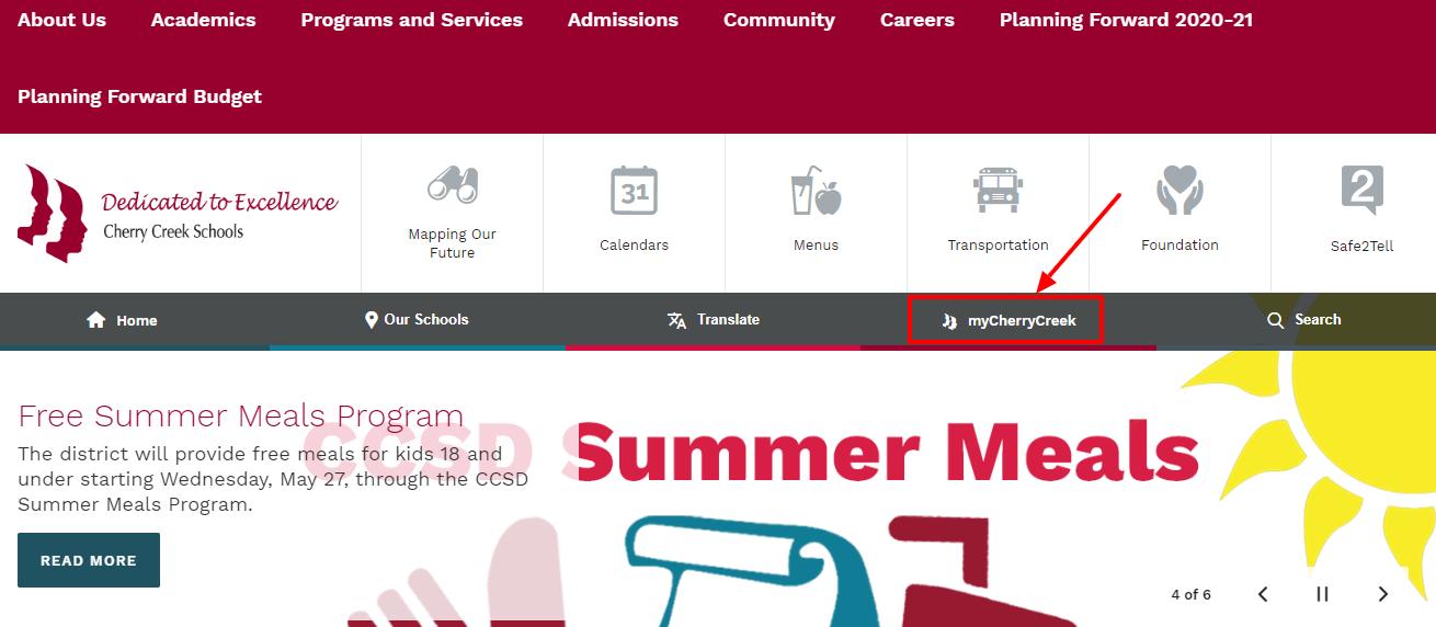 Login at Cherry Creek School District Online Portal