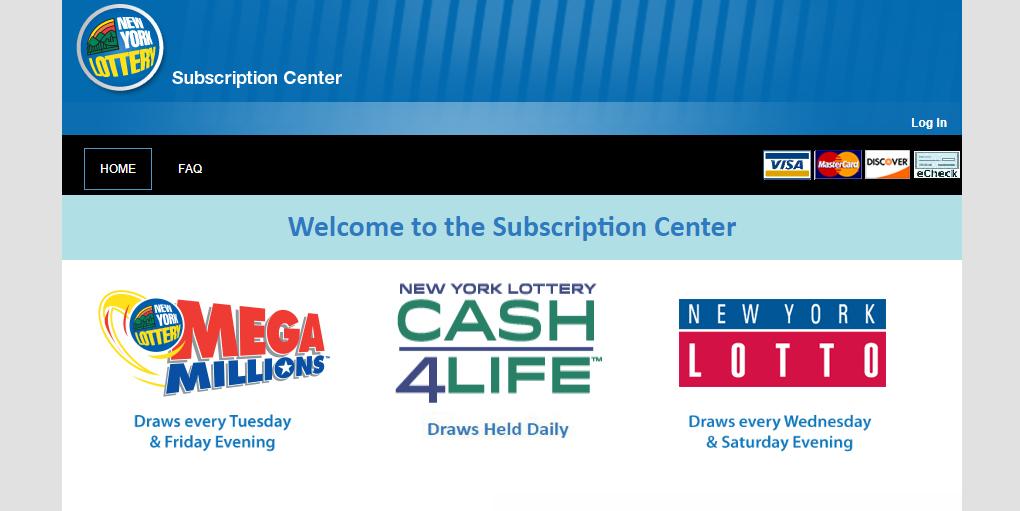 New York Lottery Online Portal