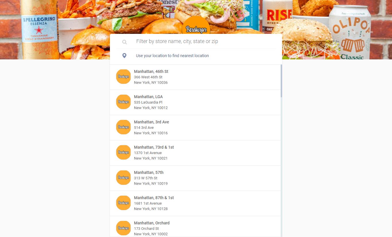 Bare Burger Customer Feedback Survey