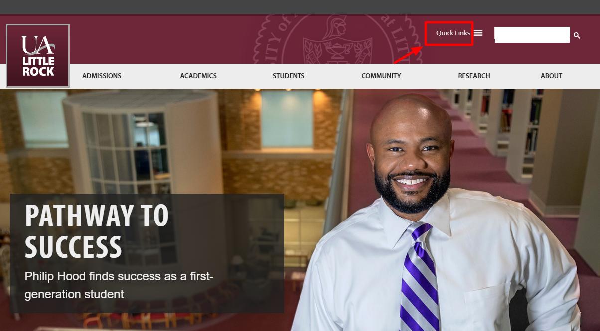 University of Arkansas at Little Rock login