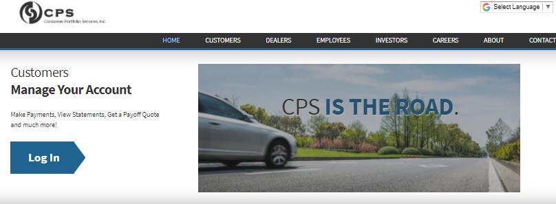 Consumer Portfolio Services login