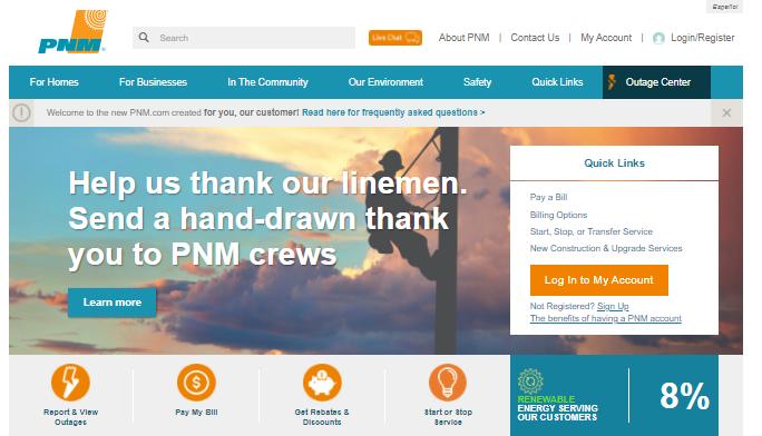 PNM Bill Pay