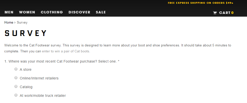 catfootwear survey