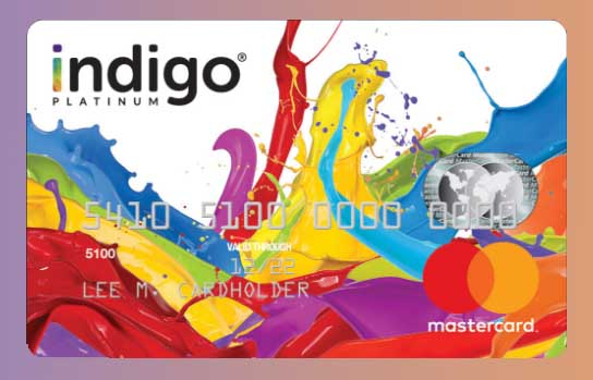 Activate Your Indigo Platinum MasterCard