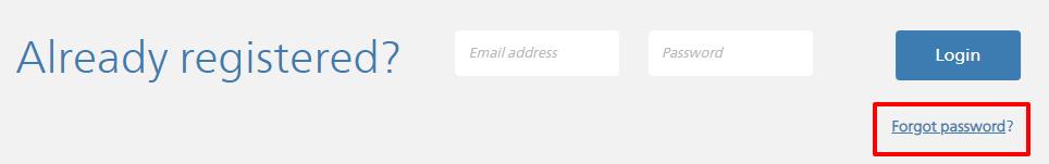 Bankers Life Online Account password forgot