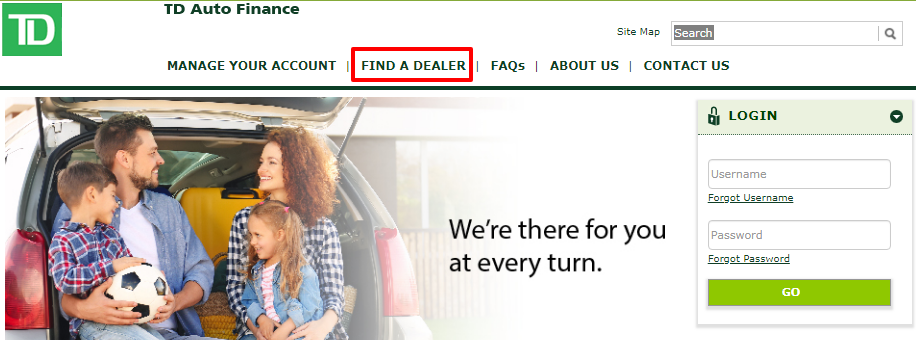 How to Find a TD Auto Finance Dealer