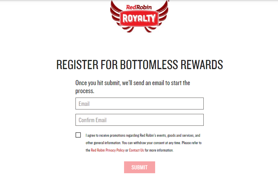 How to Join The Red Robin Royalty Program