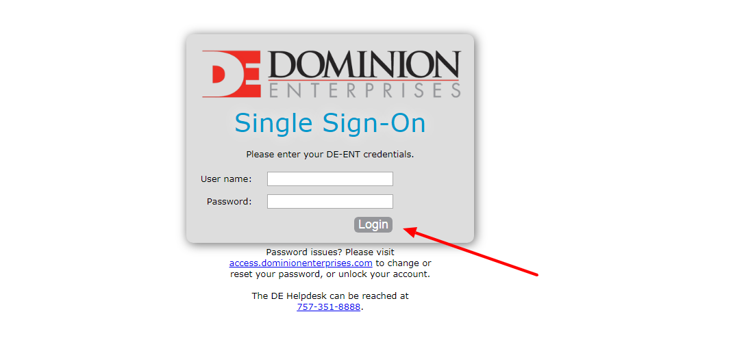 Guidelines For Dominion Enterprises Employee Login
