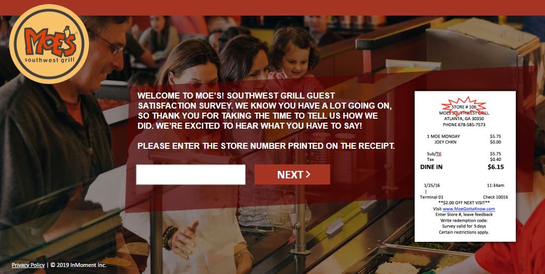 Check Out Moe's Southwest Grill Menu