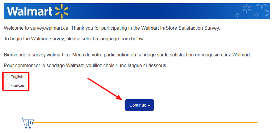 walmart Satisfaction Survey