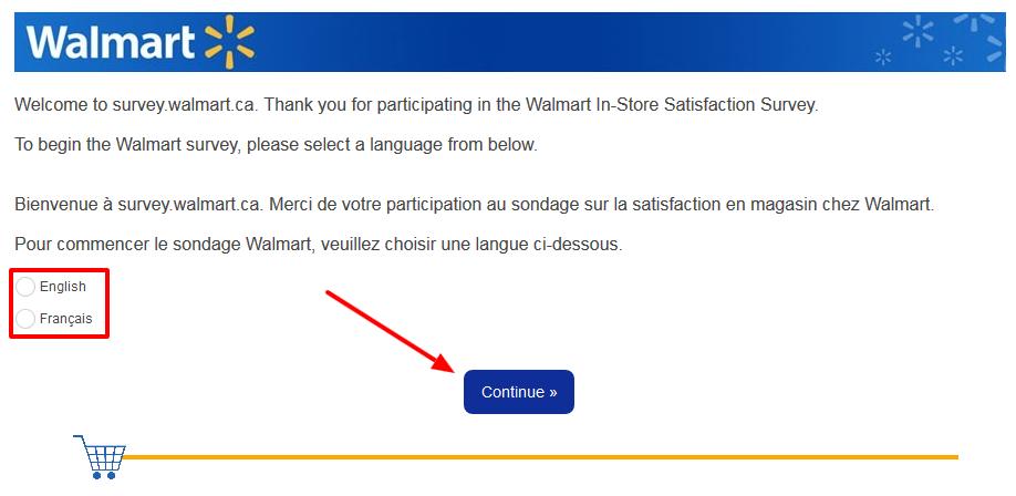 walmart Satisfaction Survey