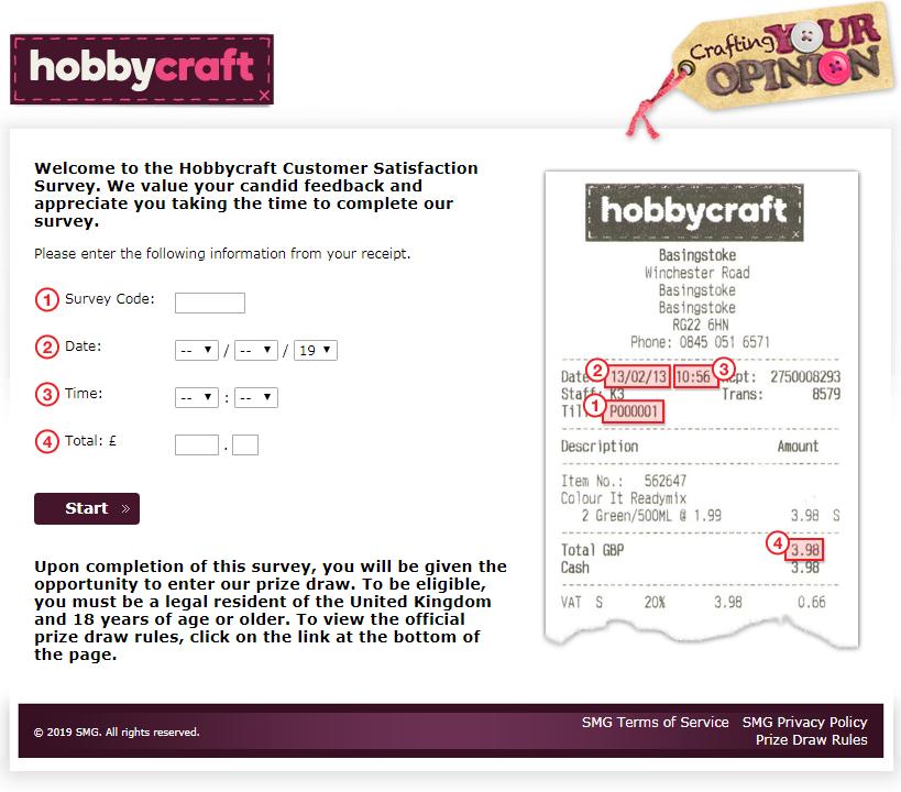 Hobbycraft Customer Survey