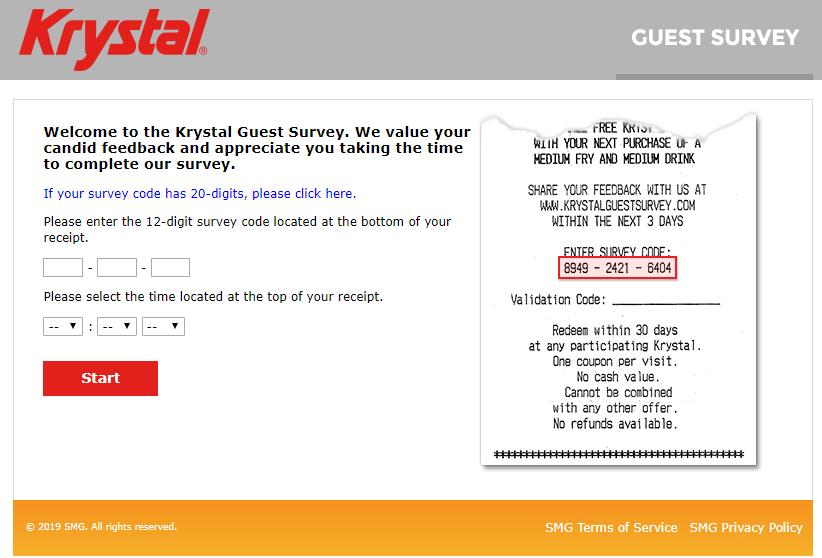 Krystal Guest Survey