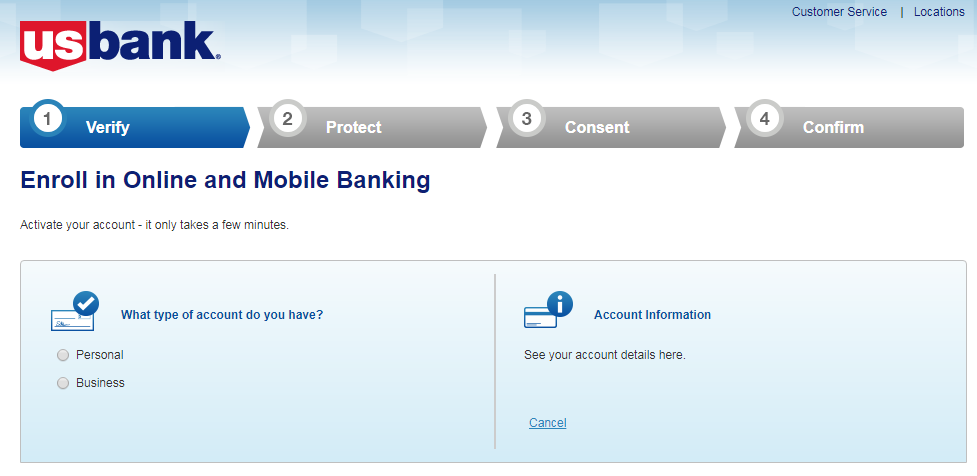 U.S. Bank Online Banking & Visa Debit Card login guide