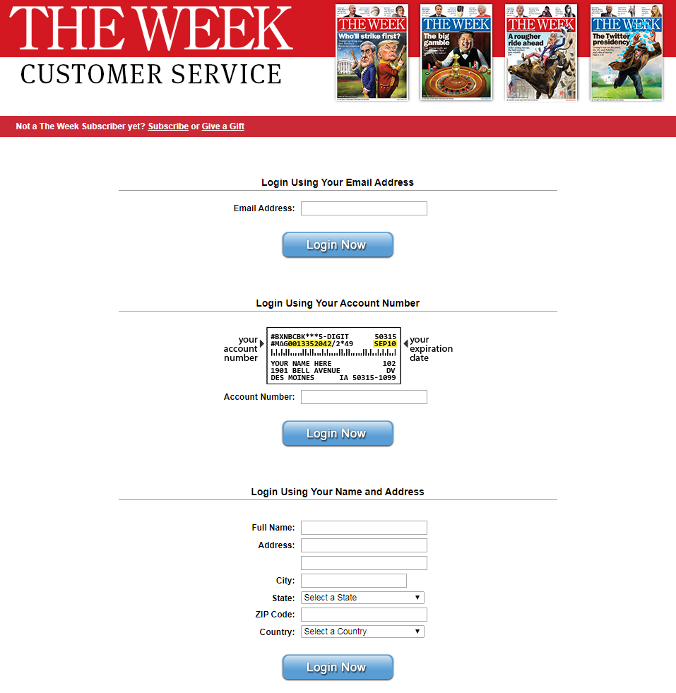 Renewal of The Week Magazine Subscription