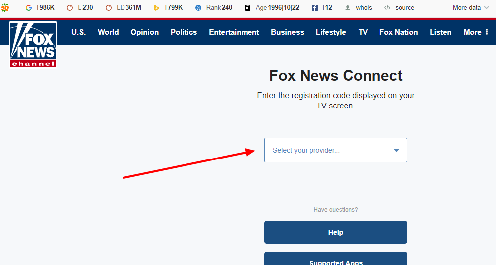 How to activate Fox News Channel on your device
