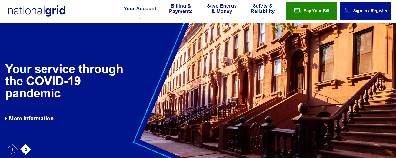 National Grid Bill Pay Online