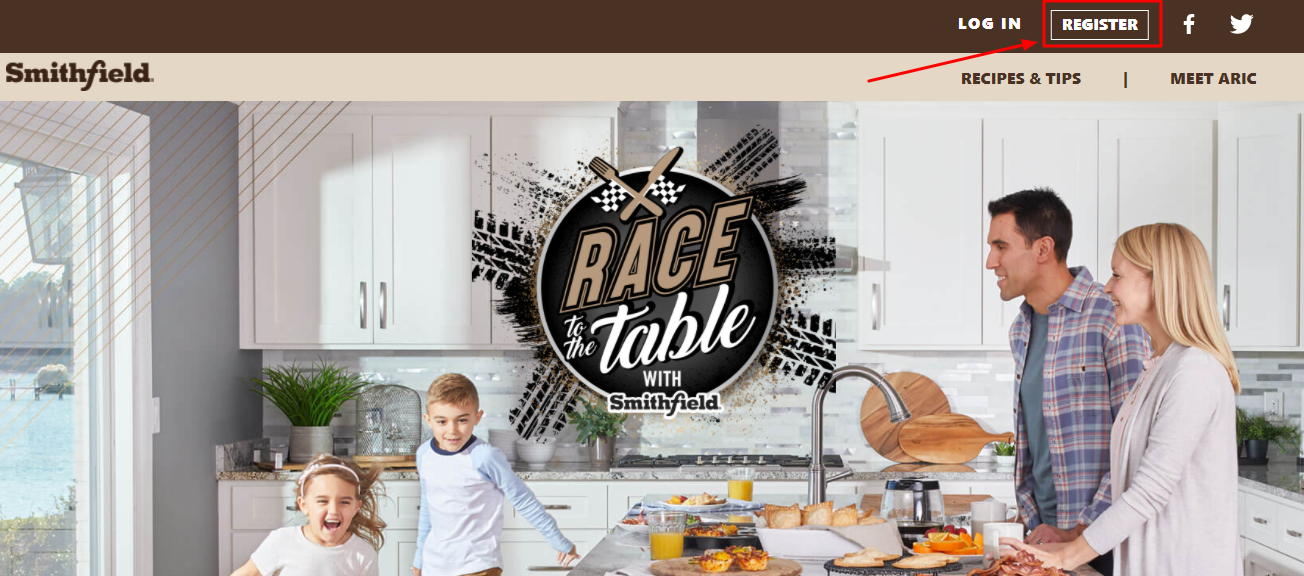 Race to the Table Sweepstakes