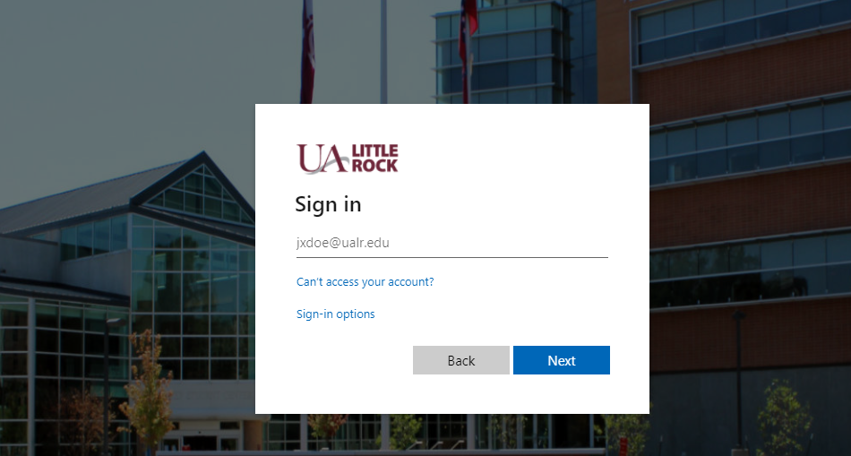 UALR Blackboard Login