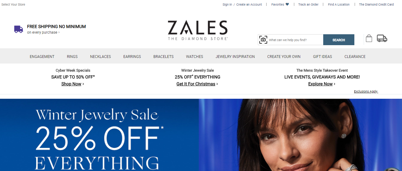 Zale Corporation Credit Card Portal