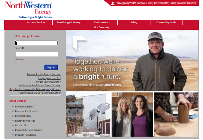 Northwestern Energy Bill Pay
