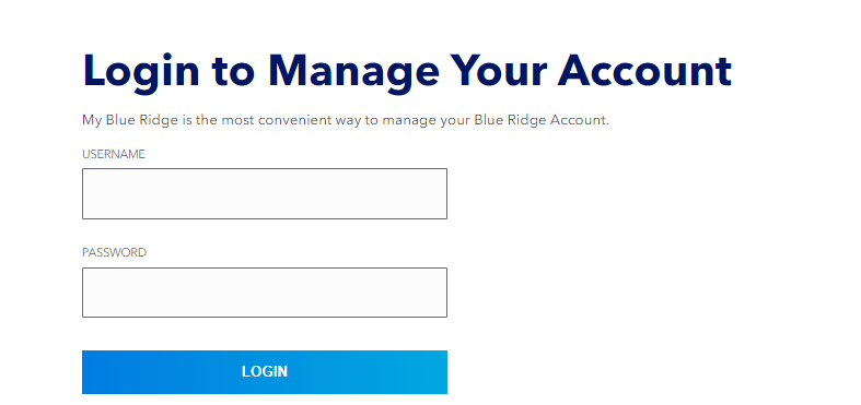 Blue Ridge Bill Pay