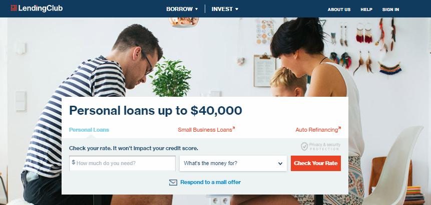 Lending Club Login