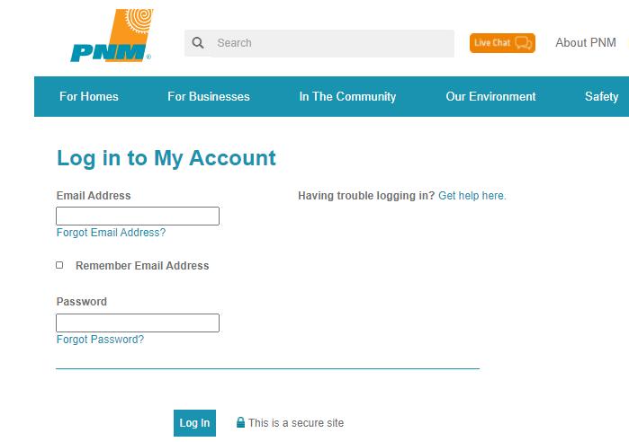 PNM Pay Bill Online