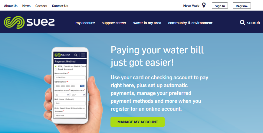 United Water Bill Pay